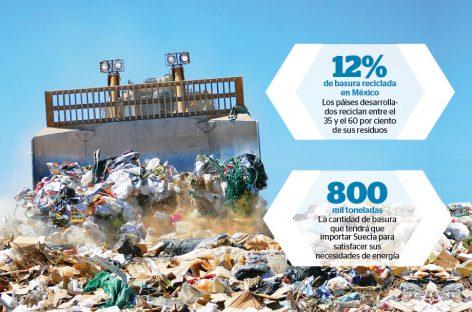 Basura en electricidad, los nordicos líderes en reciclaje de residuos