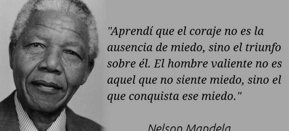 El miedo, según Nelson Mandela