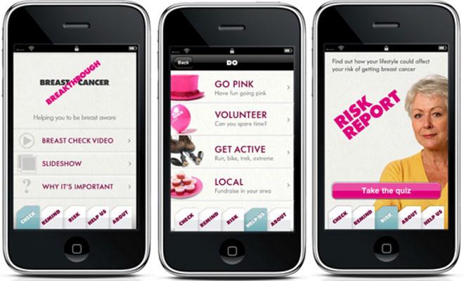 Nueva aplicación para la detección del cáncer de mama