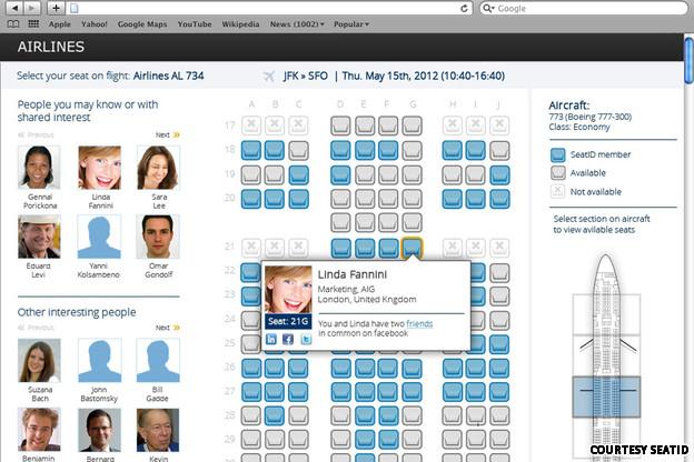 compañero de vuelo-elegir asiento-vuelos-Social Seating