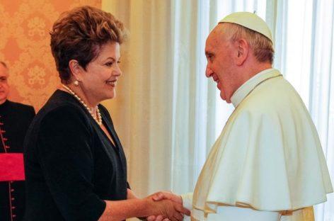 El papa y Dilma: una alianza para combatir las desigualdades