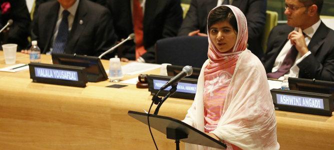 Malala: Un libro y una pluma pueden cambiar el mundo