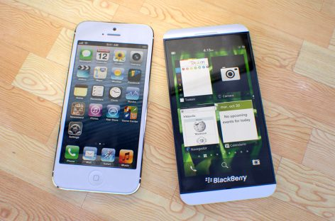BlackBerry vs. iPhone, las 10 diferencias