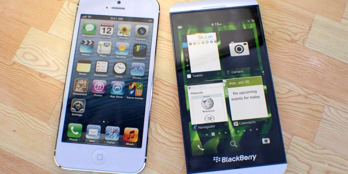 BlackBerry vs. iPhone, las 10 diferencias
