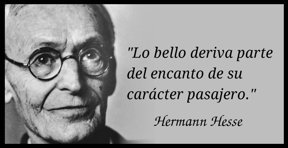 Hermann Hesse-lo bello-lo pasajero-mensajes positivos