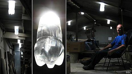 lamparas moser-botellas de agua-botellas que dan luz-alfredo_moser_alfredo moser copia
