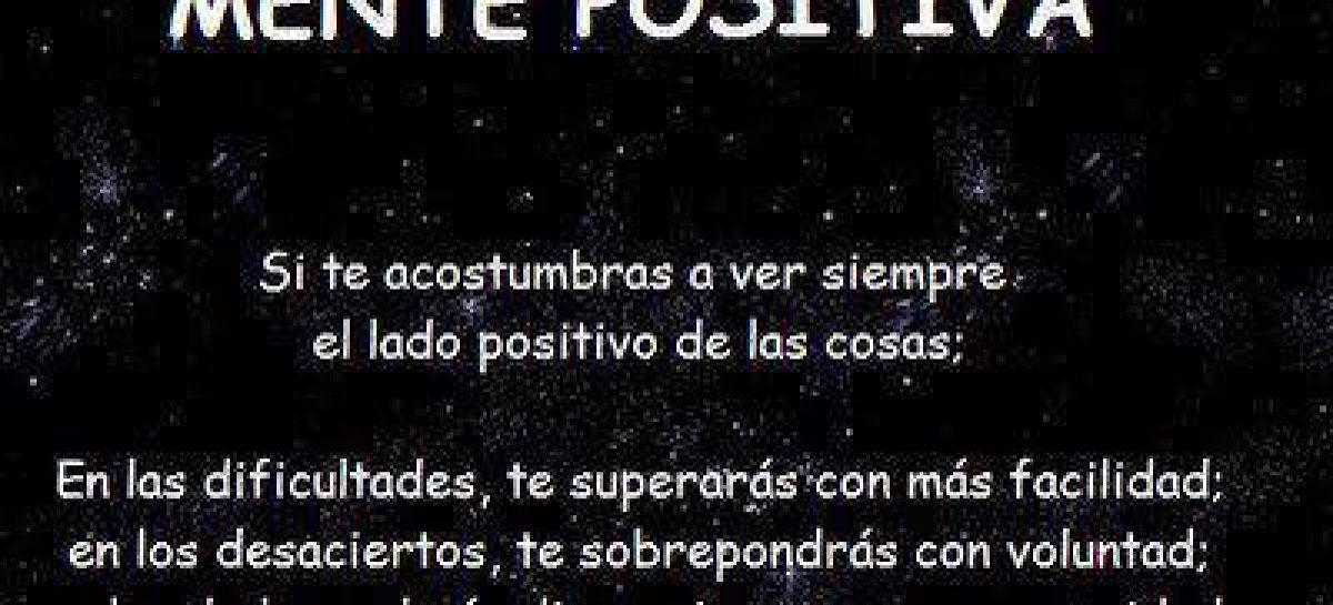 Ver lo positivo
