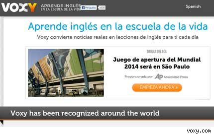 voxy-aprender inles-ingles online