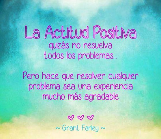 Actitud positiva - En Positivo En Positivo