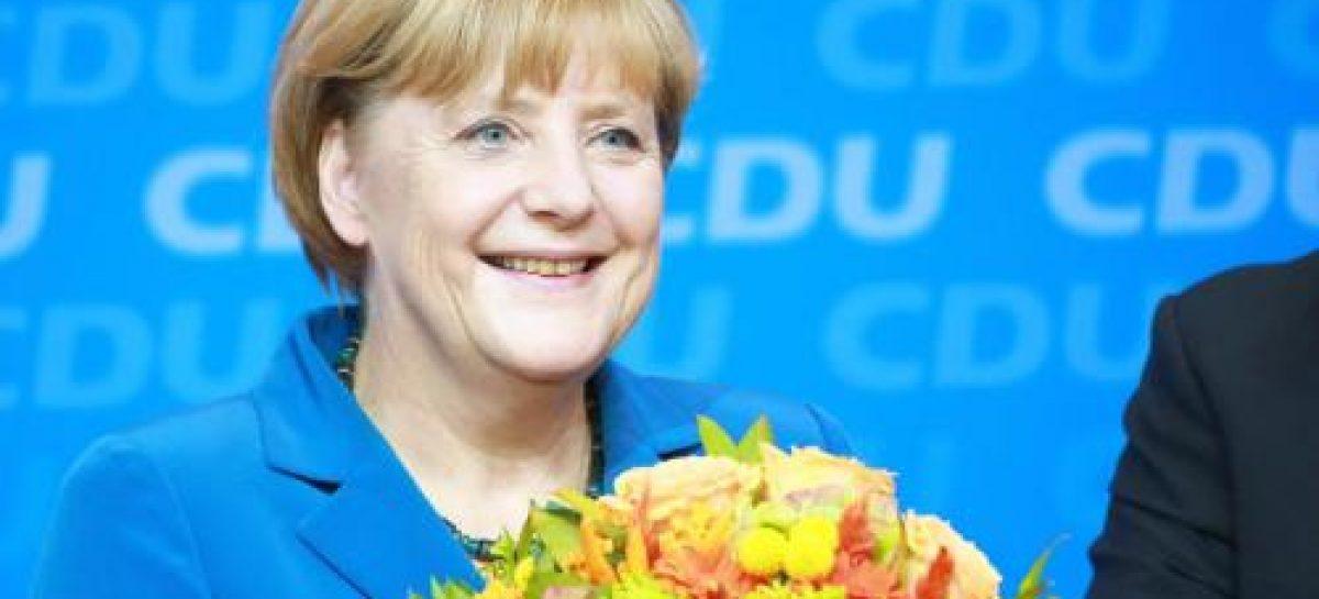 Merkel: el mejor resultado en 20 años