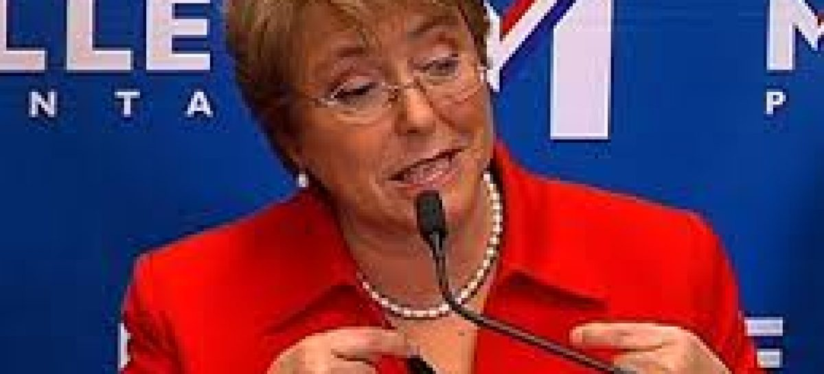 Michelle Bachelet será la próxima presidenta según las encuestas