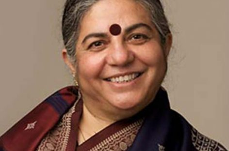 La ecología, y sólo la ecología, puede parar las guerras. Entrevista a Vandana Shiva   .