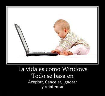 La vida como Windows