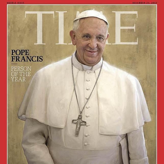 El Papa personaje del año