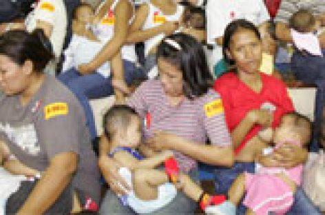 Filipinas, la prioridad de ayudar a las madres