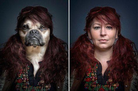 Los perros y sus dueños, como dos gotas de agua