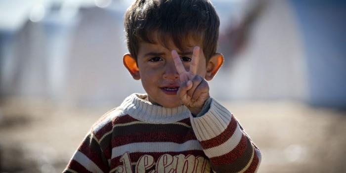 La Unión Europea ayuda a los niños sirios