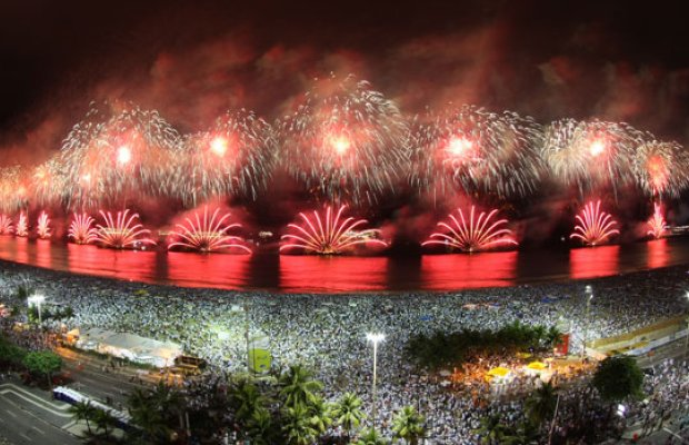 El mundo celebró el nuevo año