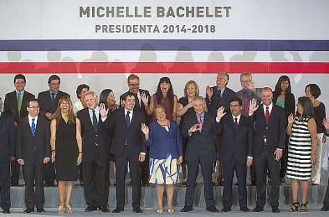 "Michelle Bachelet abre ""una nueva etapa"" en Chile"
