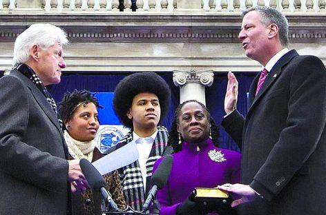Bill de Blasio, nuevo alcalde progresista de Nueva York