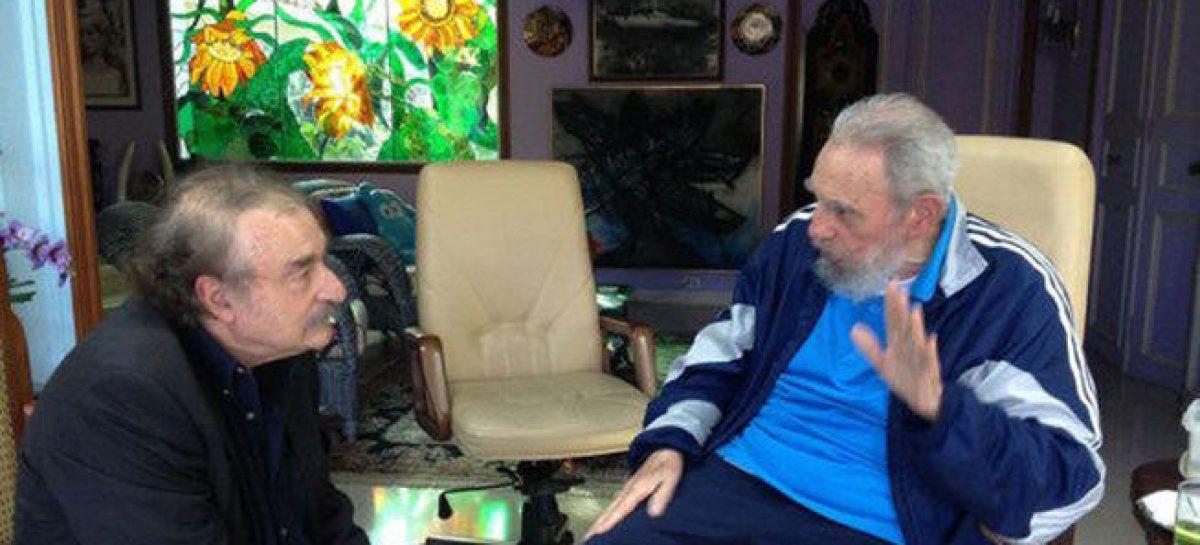 Dos horas con Fidel Castro