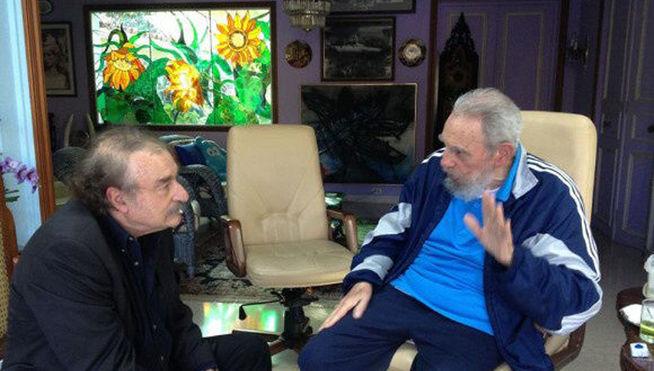 Dos horas con Fidel Castro <small class=