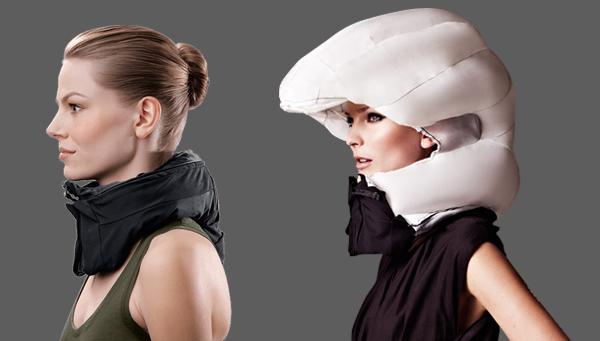 El casco invisible que puede salvar vidas