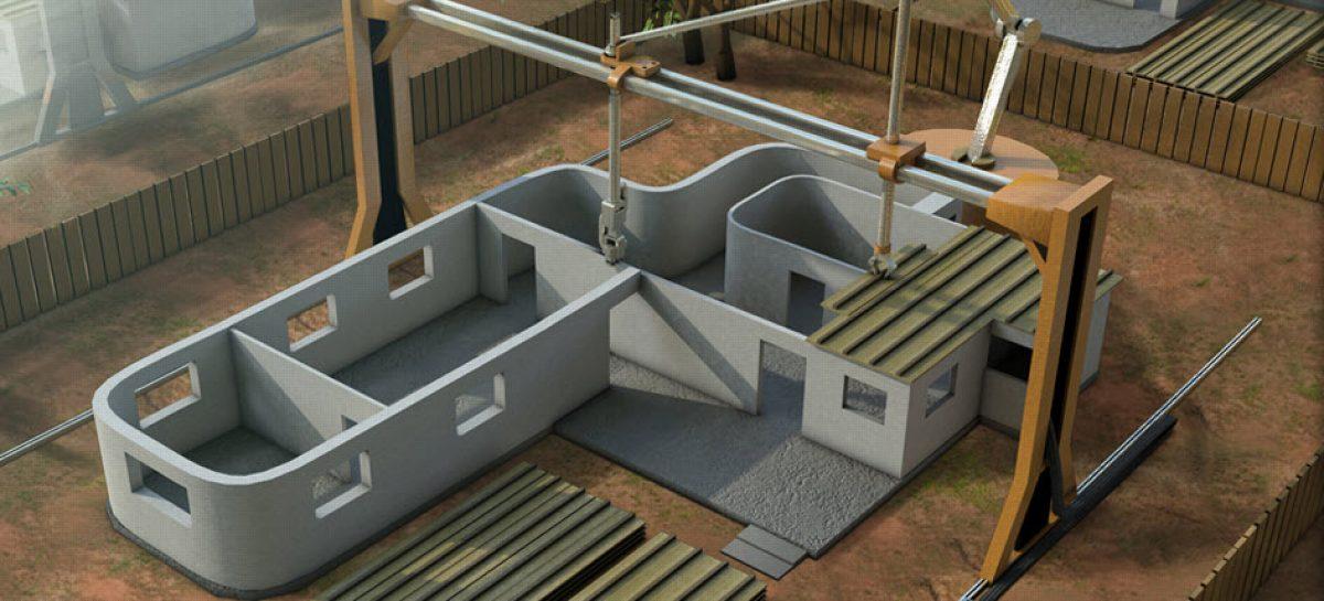 Una impresora 3D gigante capaz de construir una casa