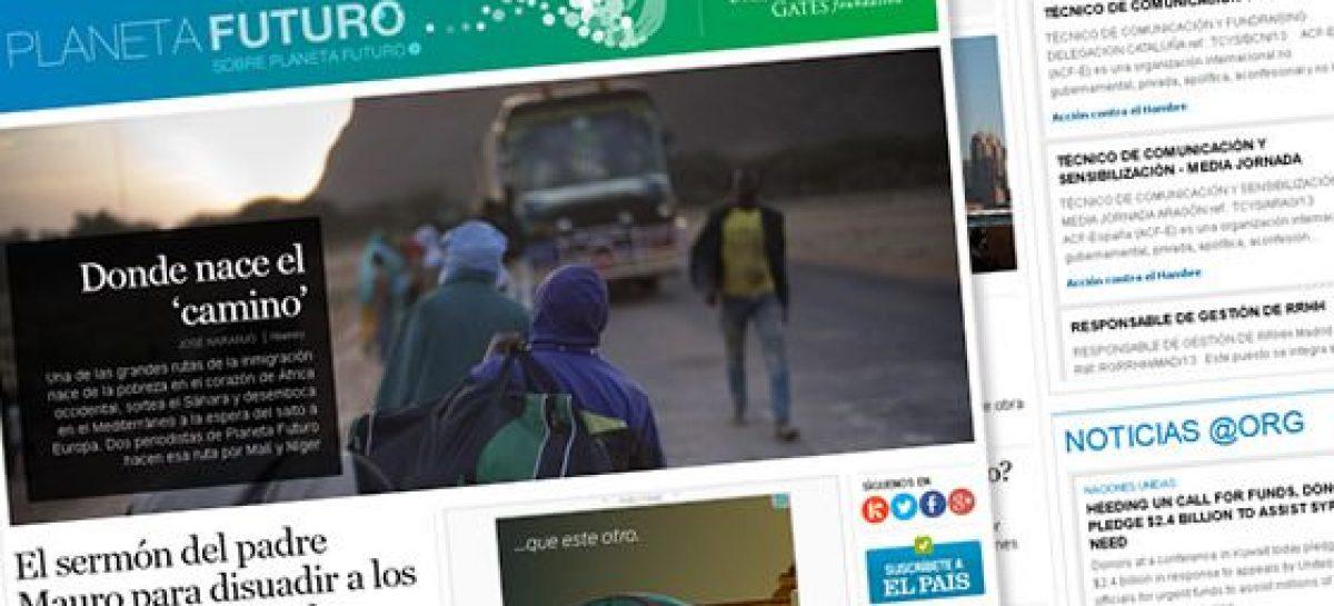 Planeta Futuro: El País con el periodismo para el cambio social