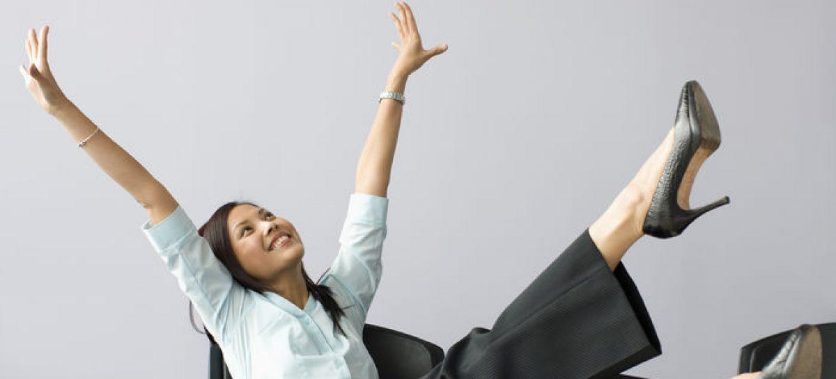 Trabajo feliz, cómo hacer más positivo nuestro tiempo en la oficina