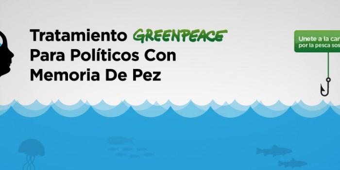 Greenpeace reclama una pesca sostenible
