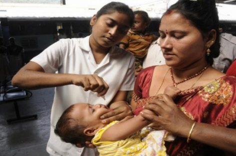 India: declarado país libre de polio