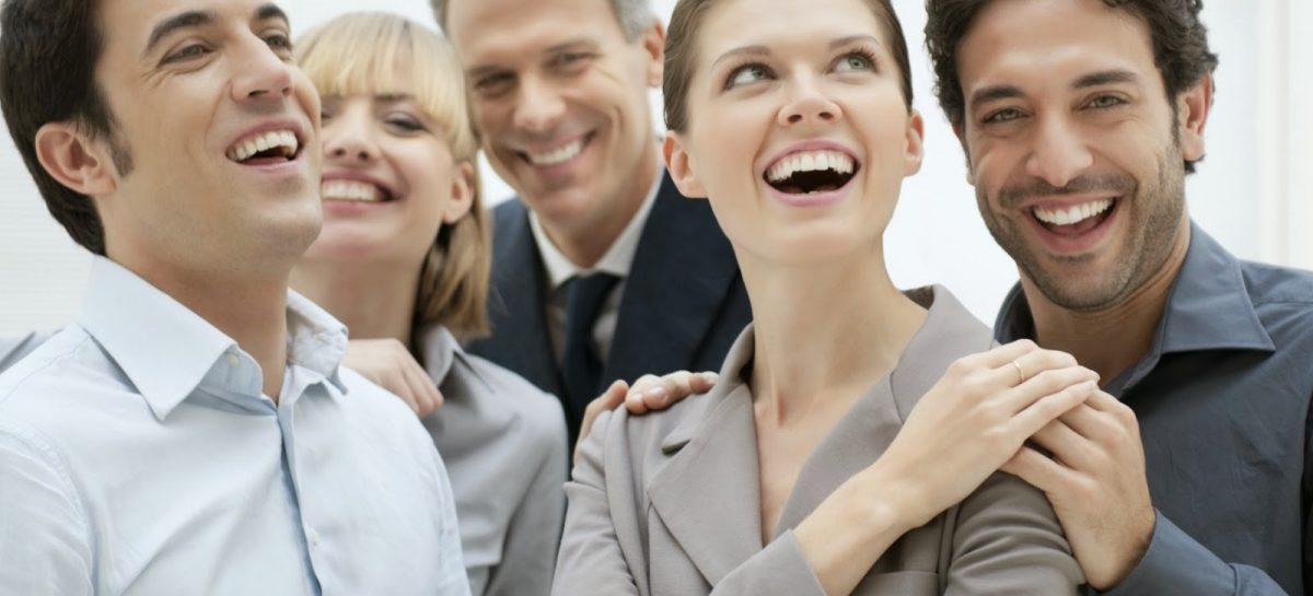La risa aumenta la productividad en el trabajo