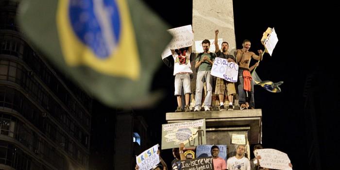 Brasil, himno protesta contra el Mundial de Fútbol