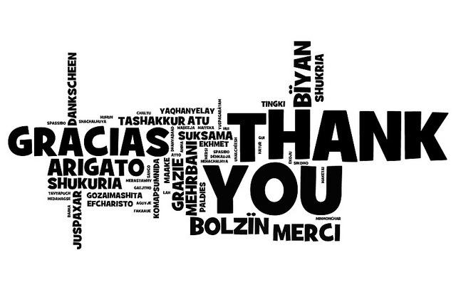Más gratitud, más felicidad