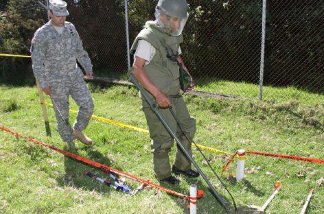 Grandes avances en Ecuador contra las minas antipersonal