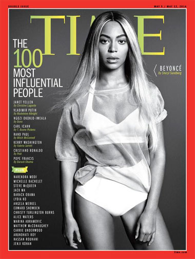 Time-100 influyentes-revista Time-personalidades