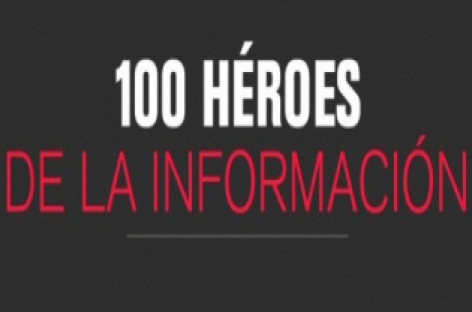 100 héroes del periodismo