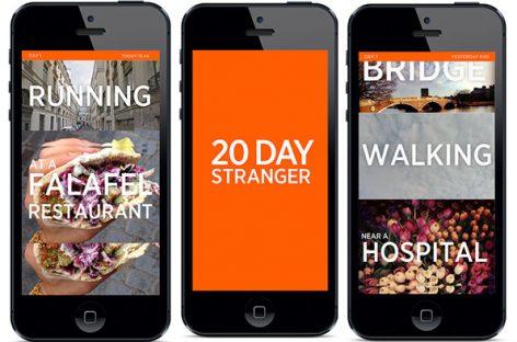 """""""20 day stranger"""", la app para compartir la vida con un extraño"""