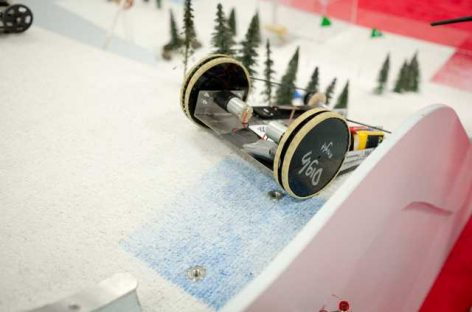 Así es una competición de robots (o un examen) en el MIT