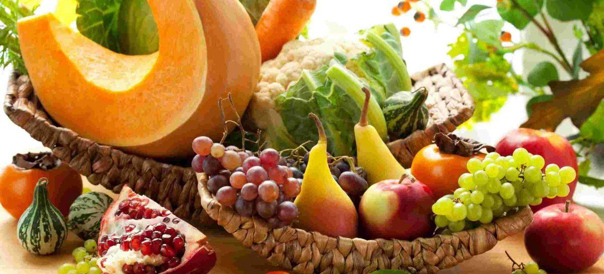 Frutas y verduras, la clave de una buena alimentación