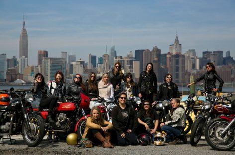 Las motos también son para mujeres