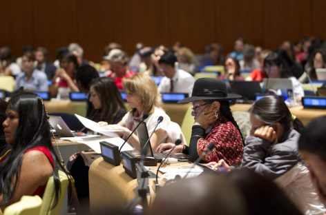 Los pueblos indígenas se expresan en Naciones Unidas