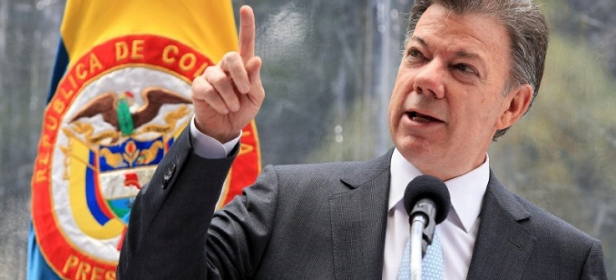 Gana en Colombia el discurso pacifista de Santos