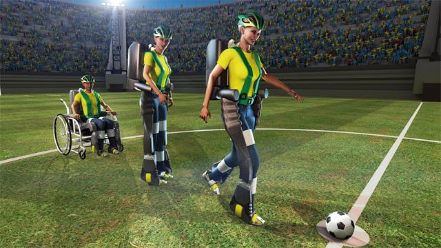 Mundial de fútbol, un exoesqueleto dará la primera patada