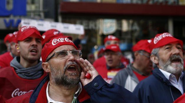 Se declara nulo el ERE de Coca-Cola