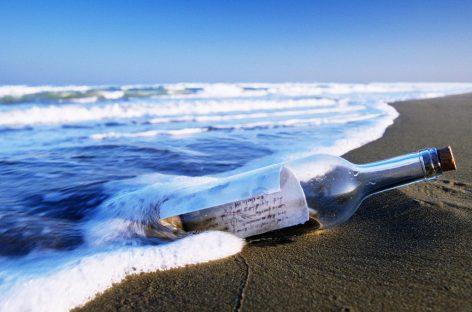 Encontrado el mensaje en una botella más antiguo del mundo