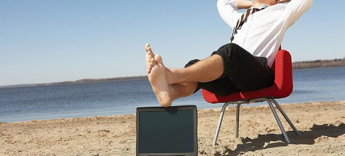 Trabajar en vacaciones y desde el extranjero conectado a la red