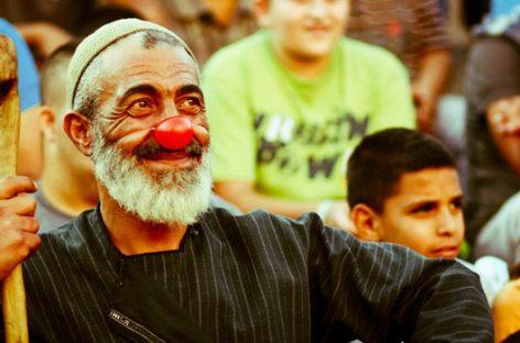 'Festiclown', una ración de carcajadas para los palestinos