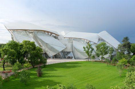 El Museo para La Fundación de Louis Vuitton  abre sus puertas en París
